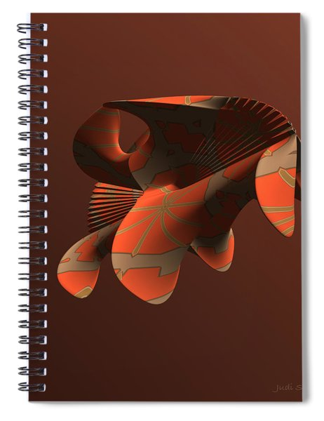 Abstract 351 Spiral Notebook