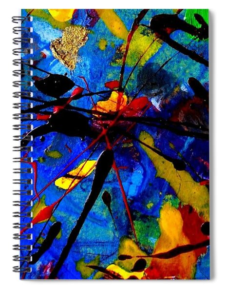 Abstract 39 Spiral Notebook