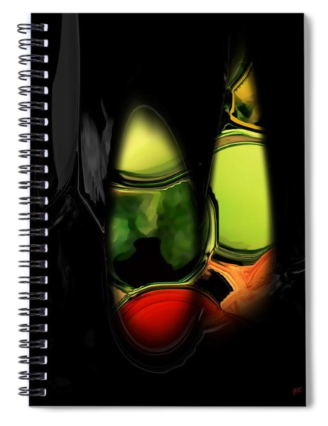 Abstract 400 Spiral Notebook
