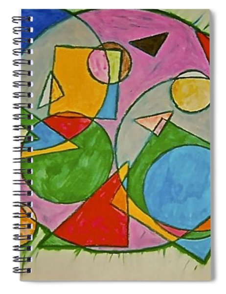 Abstract 89-001 Spiral Notebook