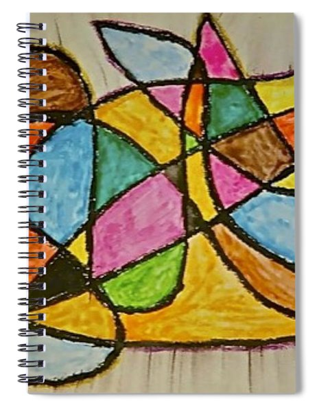 Abstract 89-002 Spiral Notebook