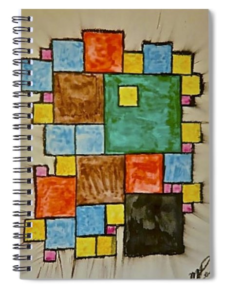 Abstract 89-003 Spiral Notebook