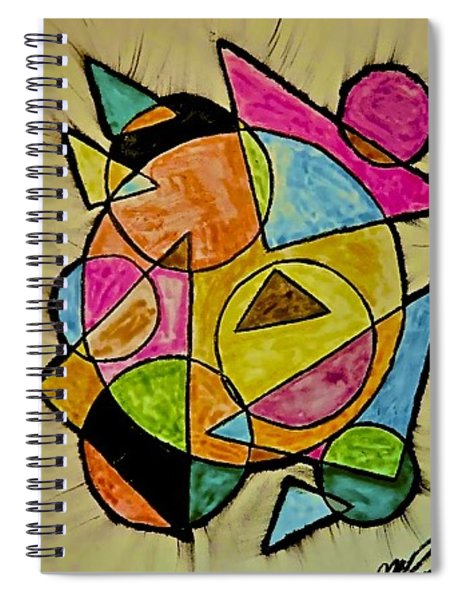 Abstract 89-004 Spiral Notebook
