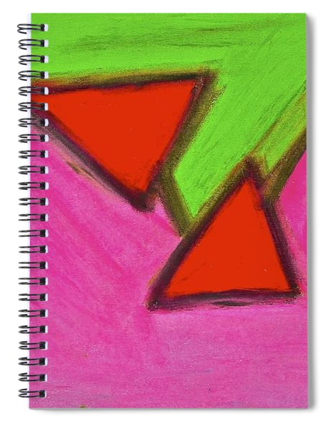 Abstract 92-002 Spiral Notebook