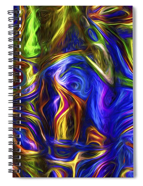 Abstract Series A3 Spiral Notebook