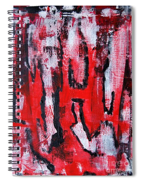 Abstract - Insane Spiral Notebook