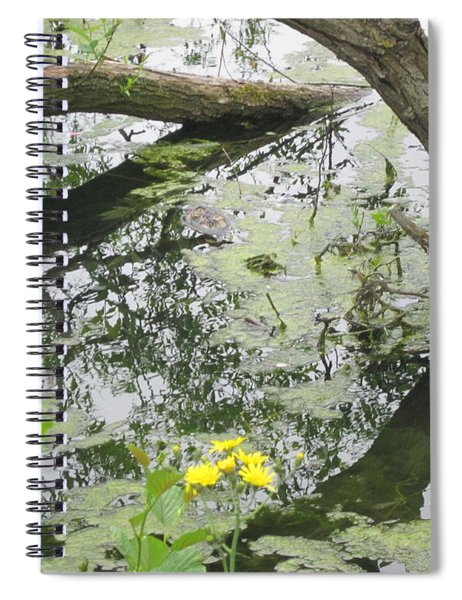 Abstract Nature 2 Spiral Notebook