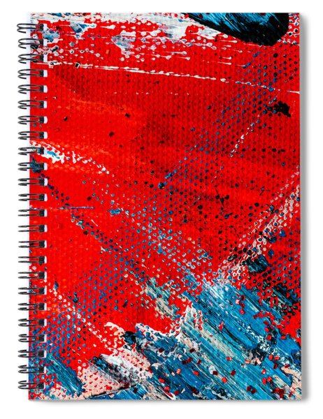 Abstract Original Artwork One Hundred Phoenixes Untitled Number Five Spiral Notebook