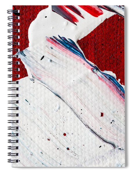 Abstract Original Artwork One Hundred Phoenixes Untitled Number Nine Spiral Notebook