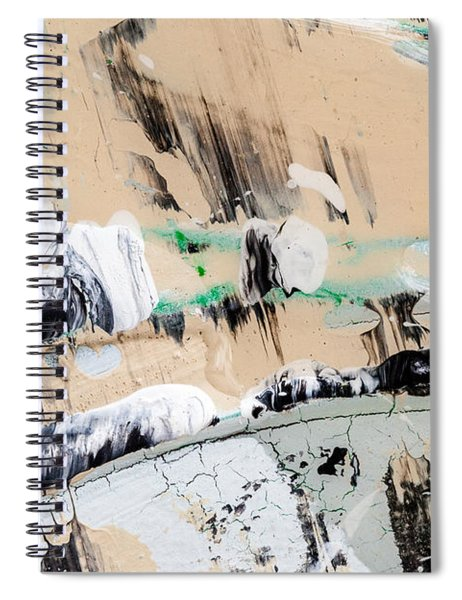 Abstract Original Painting Number Seven  Spiral Notebook