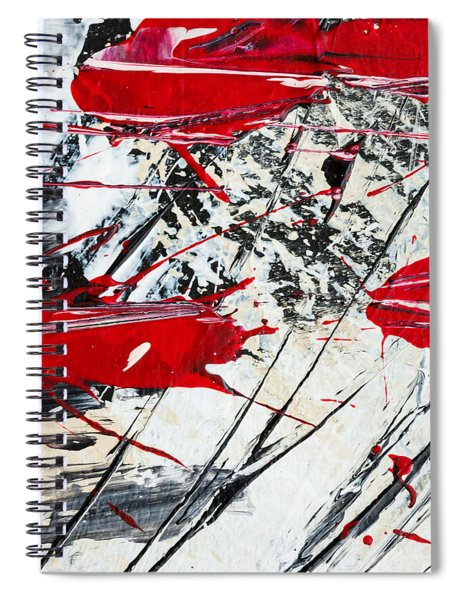 Abstract Original Painting Untitled Ten Spiral Notebook