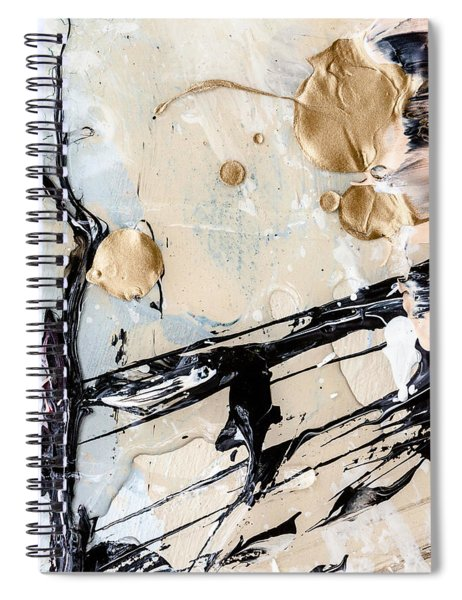 Abstract Original Painting Untitled Twelve Spiral Notebook