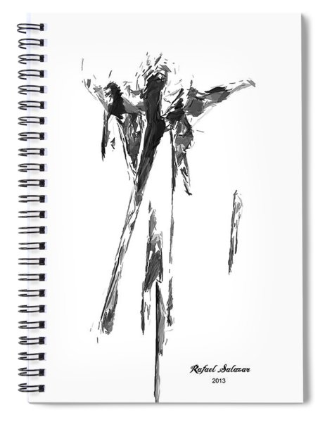 Abstract Series I Spiral Notebook