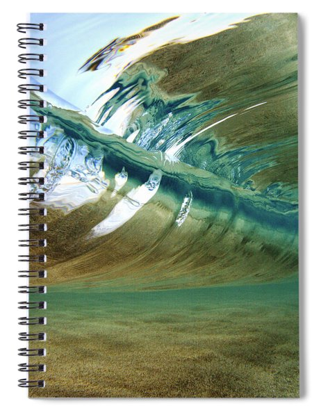 Abstract Underwater 2 Spiral Notebook