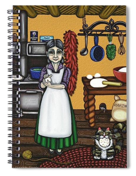Abuelita Or Grandma Spiral Notebook