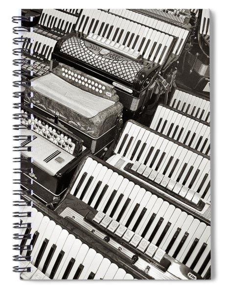 Accordions Spiral Notebook