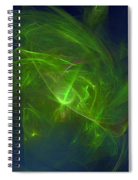 Acidic Voulge Spiral Notebook