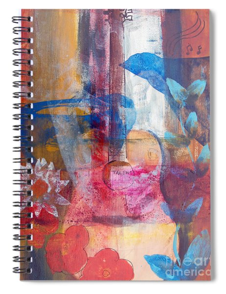 Acoustic Cafe Spiral Notebook