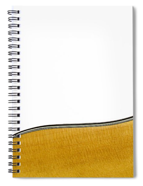 Acoustic Curve Spiral Notebook