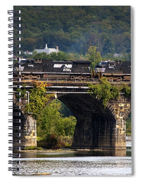 Across The Rockville Spiral Notebook