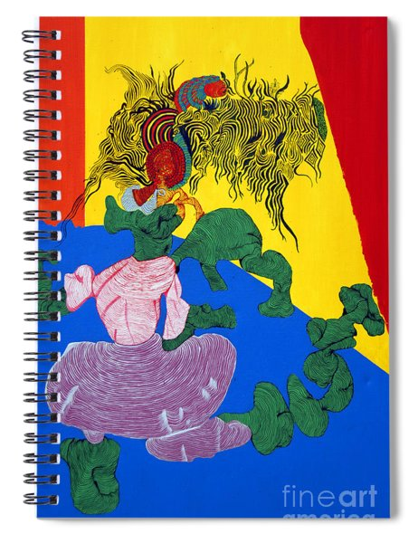 Acrylic Dancer Spiral Notebook