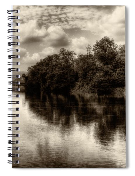 Adda River 2 Spiral Notebook