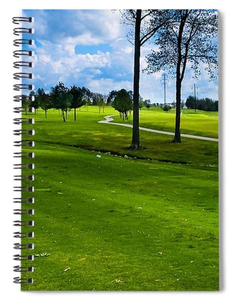 Addressing The Ball  Spiral Notebook