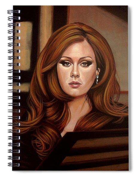 Adele Spiral Notebook