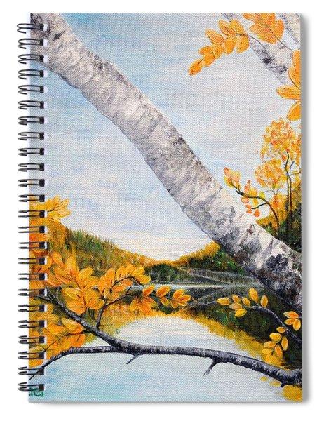 Adirondacks New York Spiral Notebook