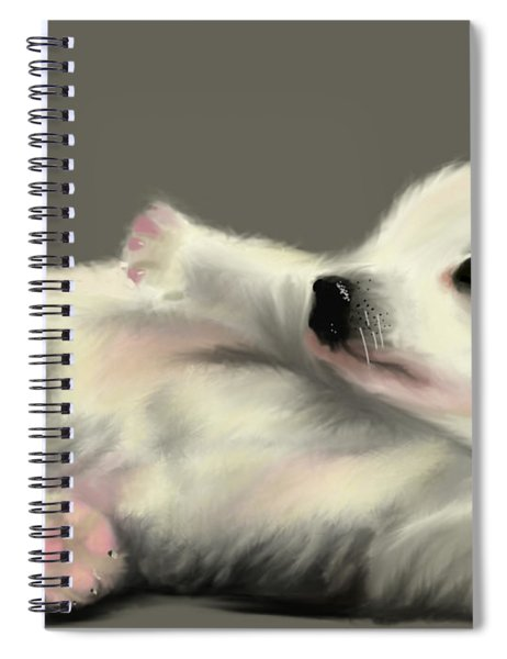 Adorable Pup Spiral Notebook