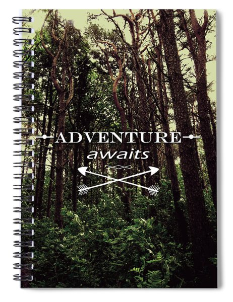 Adventure Awaits Spiral Notebook