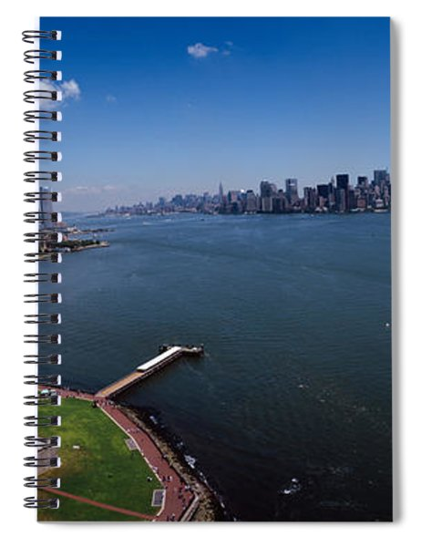 Aerial View Of A Statue, Statue Spiral Notebook