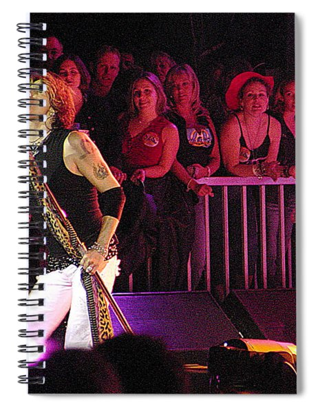 Aerosmith-steven Tyler-00074 Spiral Notebook