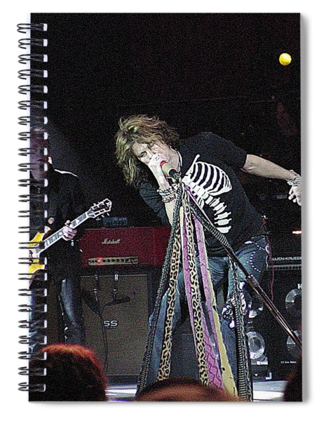 Aerosmith-steven Tyler-00160 Spiral Notebook