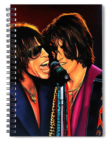 Aerosmith Toxic Twins Painting Spiral Notebook