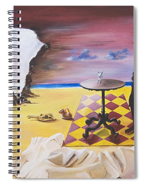 Africa Waits Spiral Notebook