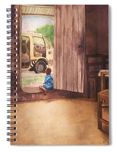 African Child's Dream Spiral Notebook