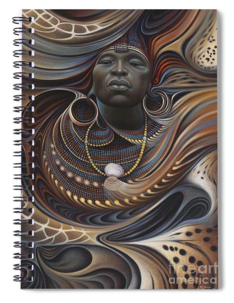 African Spirits I Spiral Notebook