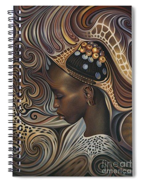 African Spirits II Spiral Notebook