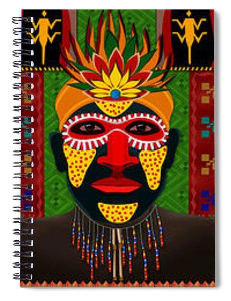 African Tribesmen Spiral Notebook