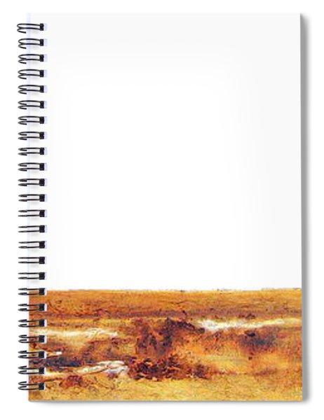 Endangered African Wild Dog - Original Artwork Spiral Notebook