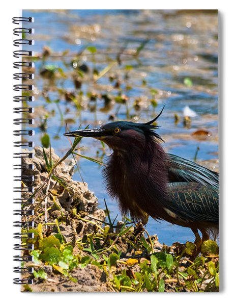 Spiral Notebook featuring the photograph After Fishing by Ed Gleichman