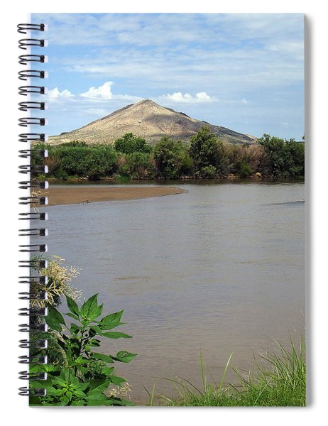 After The Rains At Picacho Peak Spiral Notebook
