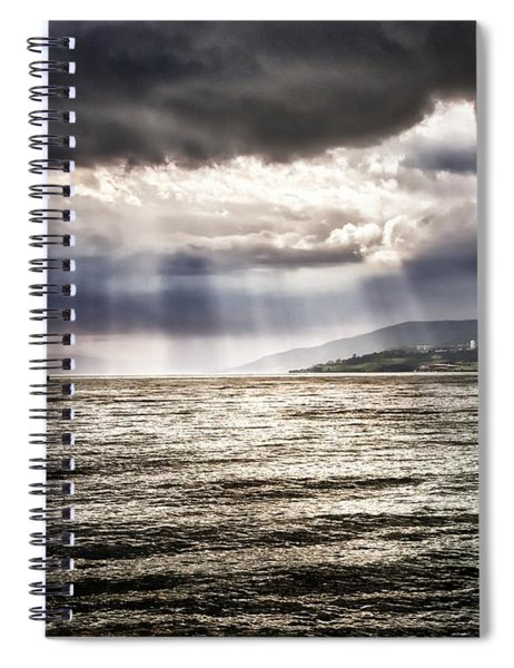 After The Storm Sea Of Galilee Israel Spiral Notebook