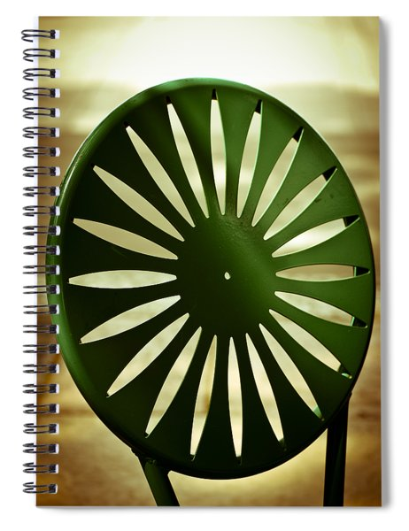 Afternoon On The Terrace Spiral Notebook