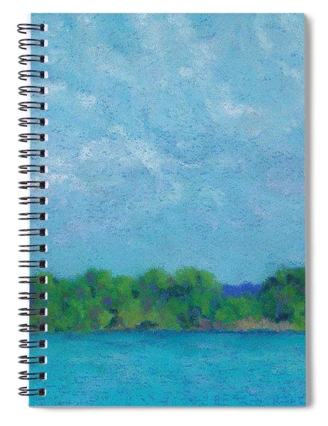 Afternoon Rest Spiral Notebook