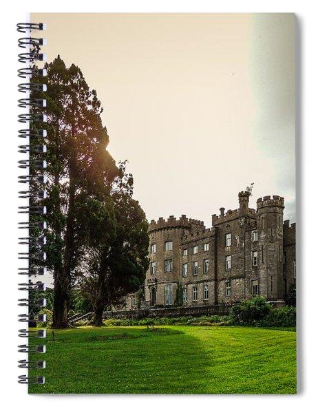 Afternoon Sun Over Markree Castle Spiral Notebook