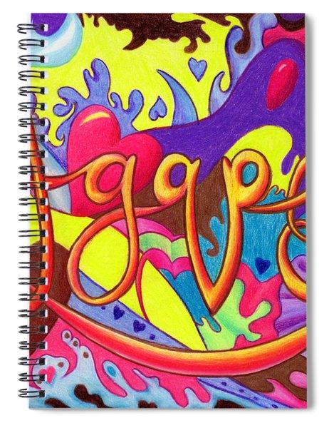 Agape Spiral Notebook