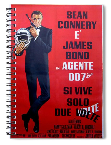 Agente 007 Si Vive Solo Due Volte Spiral Notebook