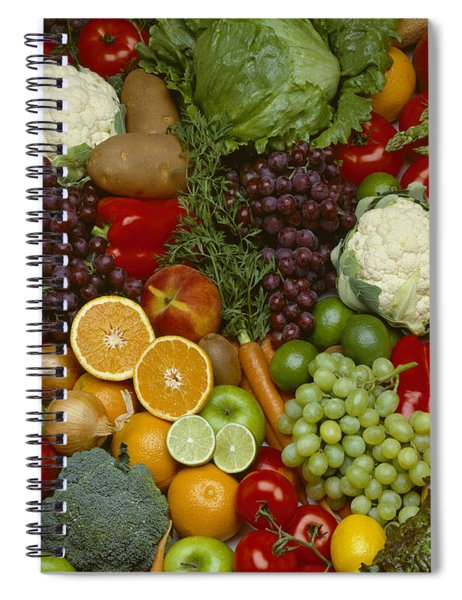Agriculture - Produce, Spread Of Mixed Spiral Notebook